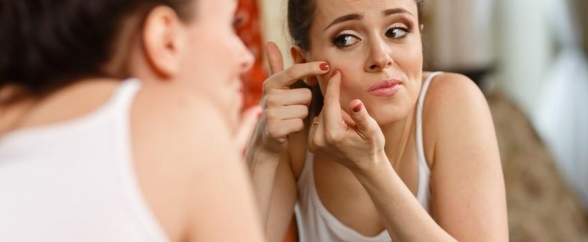 image illustration sur l'acné